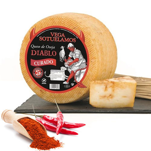 Cheese VEGA SOTUELAMOS Sheep Cured DIABLO