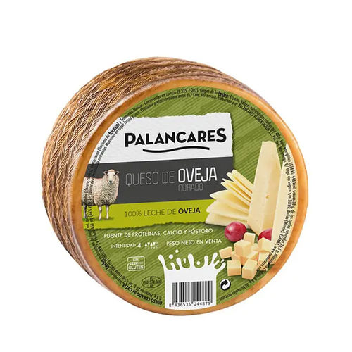 Cured Sheep's cheese PALANCARES 2KG