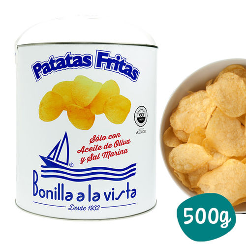 French fries with olive oil BONILLA A LA VISTA 500 g
